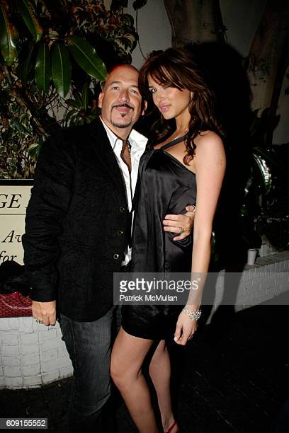 Richard PerezFeria and Erin Naas attend Nicolas Berggruen Dinner at Chateau Marmont on February 21 2007 in Hollywood CA
