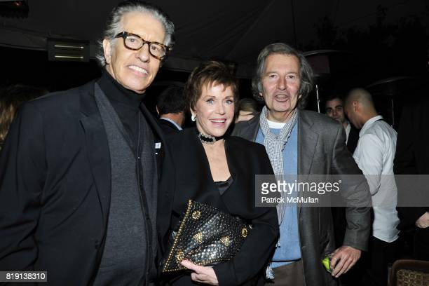 Richard Perry Jane Fonda Bob Shaye attend NICOLAS BERGGRUEN's 2010 Annual Party at the Chateau Marmont on March 3 2010 in West Hollywood California