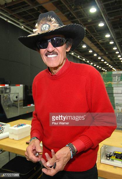 Richard Petty , former NASCAR champion, attends day 1 of Autorama at Cobo Hall on March 7, 2014 in Detroit, Michigan.