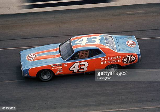 Richard Petty won his fifth Daytona 500 in 1974 driving the STP Dodge Leader Donnie Allisons laterace misfortune contributed to Pettys victory...