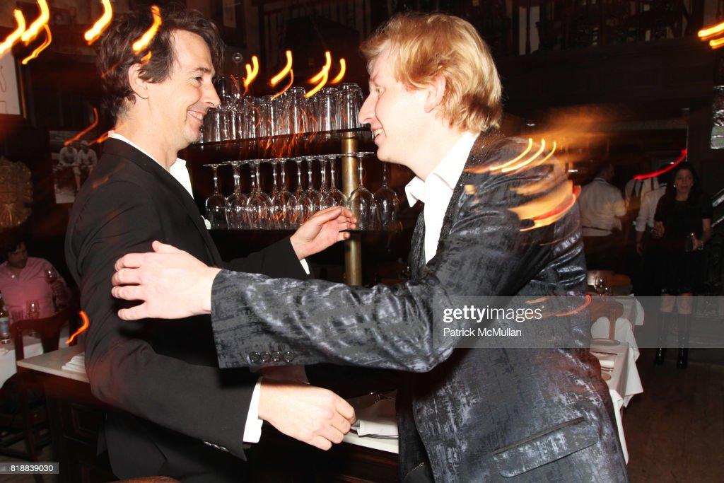 Schön Richard Phillips And Valentine Uhovski Attend Art Ruby Dinner To Celebrate  Richard Phillips At The Lion