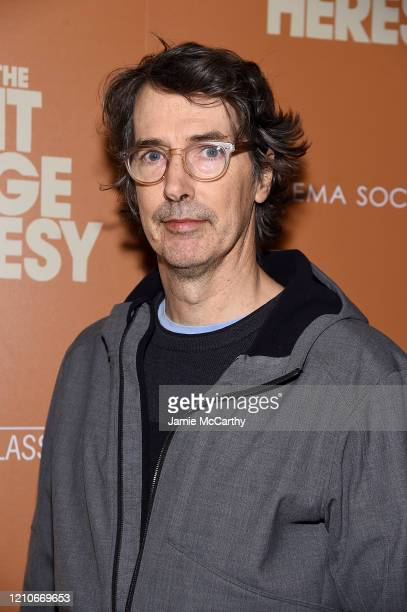 """Richard Phillips attends Sony Pictures Classics and The Cinema Society Special Screening of """"The Burnt Orange Heresy"""" at The Roxy Cinema on March 05,..."""
