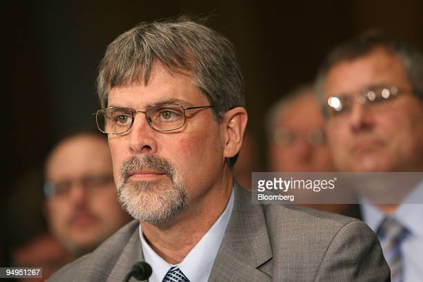 Richard Phillips the captain of the Maersk Alabama ship who was held hostage by Somali pirates for five days testifies before the Senate Foreign...