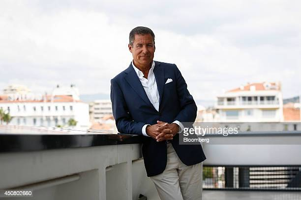 Richard Plepler chief executive officer of Home Box Office Inc poses for a photograph following a Bloomberg Television interview at the Cannes Lions...