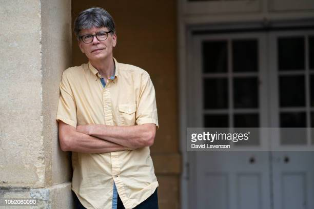 Richard Powers Man Booker Prize for Fiction 2018 shortlisted author of 'The Overstory' at the Cheltenham Literature Festival on October 13 2018 in...