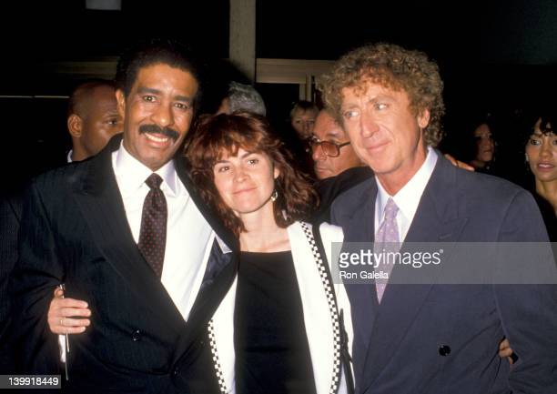 Richard Pryor Ally Sheedy and Gene Wilder at the Premiere of 'See No Evil Hear No Evil' Cineplex Odeon Century Plaza Cinemas Century City