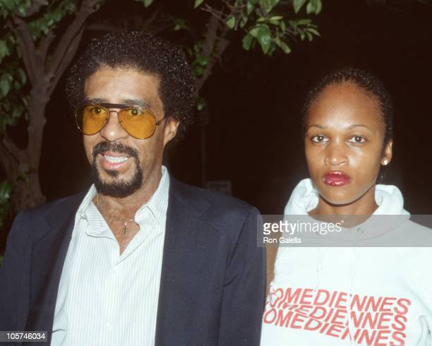 Richard Pryor and guest during Richard Pryor in Los Angeles March 1 1983 in Los Angeles California United States