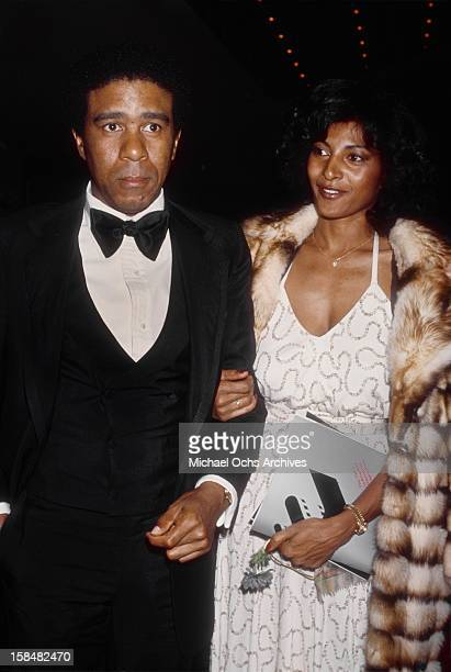Richard Pryor and Pam Grier circa 1977 in Los Angeles California