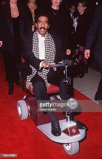 Richard Pryor during Dumb and Dumber Hollywood Premiere at Cinerama Dome Theater in Hollywood California United States