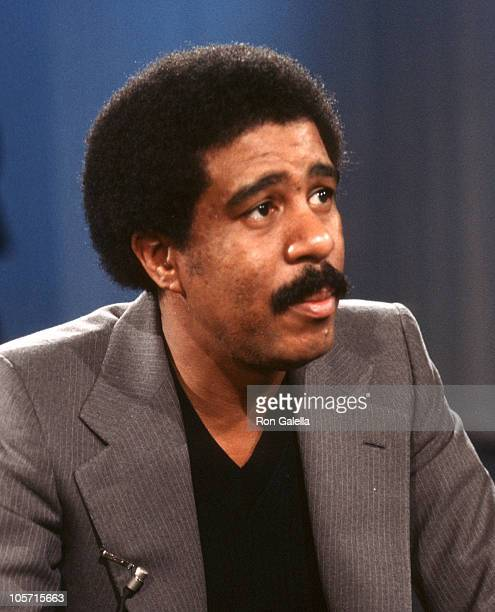 """Richard Pryor during Taping of """"Midday Live"""" - November 1, 1977 in New York City, New York, United States."""