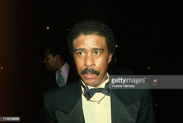 Richard Pryor is photographed at 'Night of 100 Stars' event March 8 1982 in New York City
