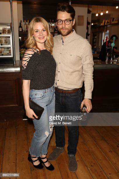 Richard Rankin attends a play reading of Building The Wall by Robert Schenkkan presented by Platform Presents at The Bush Theatre on May 30 2017 in...