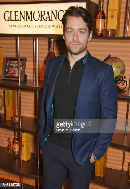 Richard Rankin attends the launch of the 'Beyond The Cask' collaboration between Glenmorangie and Renovo at Behind The Bikeshed on September 12 2017...