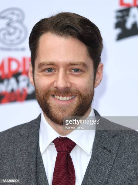 Richard Rankin attends the THREE Empire awards at The Roundhouse on March 19 2017 in London England