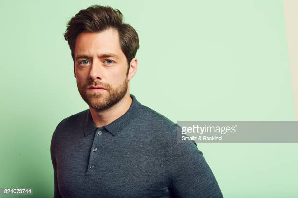Richard Rankin of Starz's 'Outlander' poses for a portrait during the 2017 Summer Television Critics Association Press Tour at The Beverly Hilton...