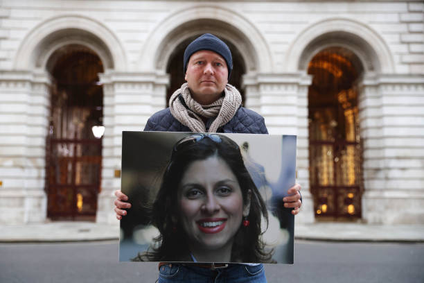 GBR: Husband Of Nazanin Zaghari-Ratcliffe Starts Second Hunger Strike