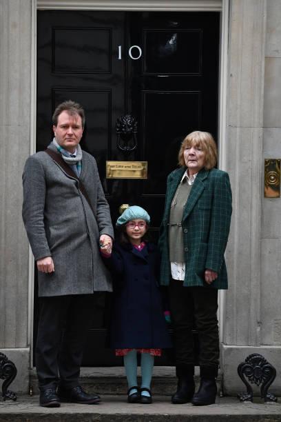 GBR: Richard Ratcliffe Arrives For Meeting With Boris Johnson