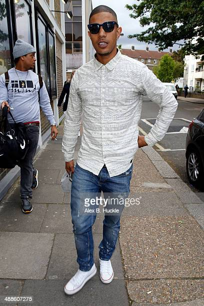 Richard Rawson sighted arriving at Riverside TV Studios to film 'Celebrity Juice' on May 7 2014 in London England