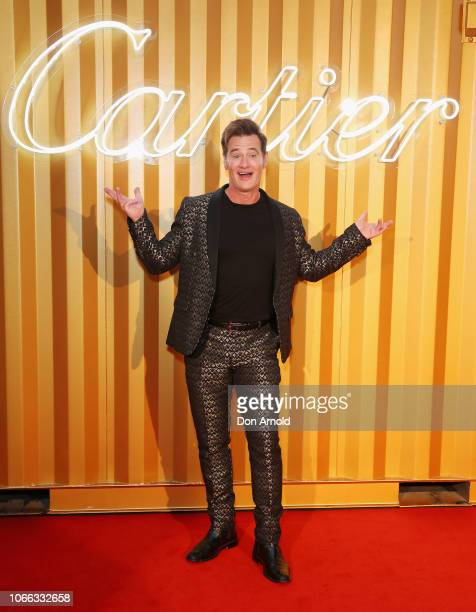 Richard Reid attends the Cartier Precious Garage Party on November 29 2018 in Sydney Australia
