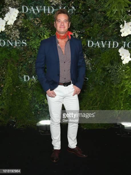 Richard Reid attends the David Jones Spring Summer 18 Collections Launch at Fox Studios on August 8 2018 in Sydney Australia