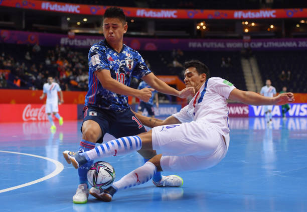 LTU: Japan v Paraguay: Group E - FIFA Futsal World Cup 2021