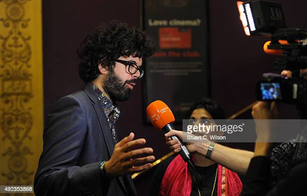 Richard Reynolds and Lyla Reynolds attend the 'Elephant Days' screening during the BFI London Film Festival at Haymarket on October 12, 2015 in...
