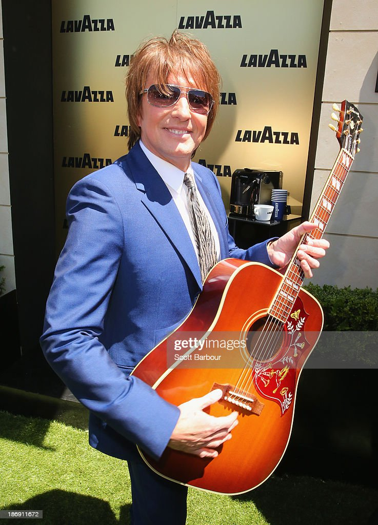 Richard 'Richie' Sambora attends the Lavazza marquee during Melbourne Cup Day at Flemington Racecourse on November 5, 2013 in Melbourne, Australia.