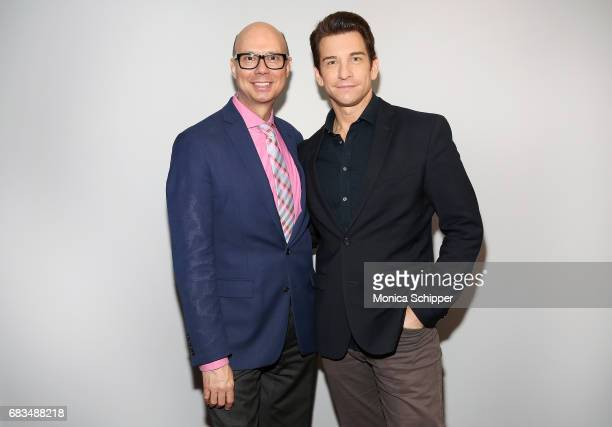 Richard Ridge and actor Andy Karl attend SAGAFTRA Foundation Conversations On Broadway Andy Karl Moderated by Richard Ridge at SAGAFTRA Foundation...