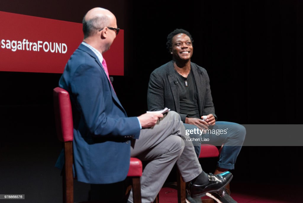 SAG-AFTRA Foundation Conversations On Broadway: Chukwudi Iwuji