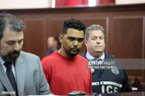 Richard Rojas appears at his arraignment in Manhattan Criminal Court on Friday May 19 2017 Rojas is charged with driving into pedestrians in Times...