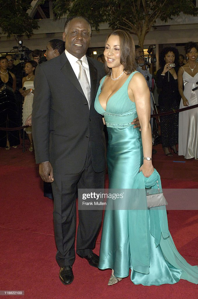 Richard Roundtree and Lisa Robinson during 2006 Trumpet Awards - Arrivals at Georgia World Congress Center in Atlanta, Georgia, United States.