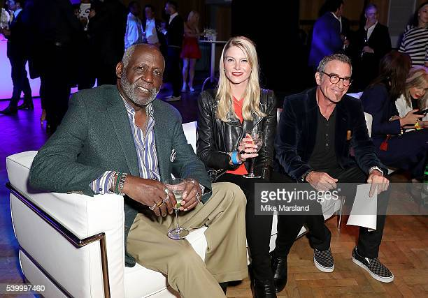 Richard Roundtree and Tico Torres attend as GQ and One For The Boys with Swatch host the London Collections Men closing night karaoke at Abbey Road...