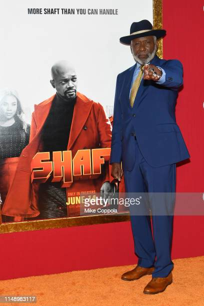 """Richard Roundtree attends the """"Shaft"""" premiere at AMC Lincoln Square Theater on June 10, 2019 in New York City."""