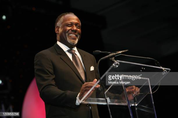 Richard Roundtree, during Jennifer Holiday performs at the 21st National Black Engineer of The Year Awards at Baltimore Convention Center in...