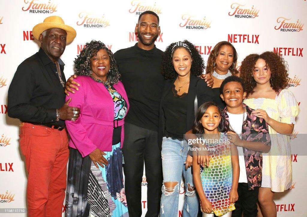 "Netflix ""Family Reunion"" LA Screening : Nyhetsfoto"