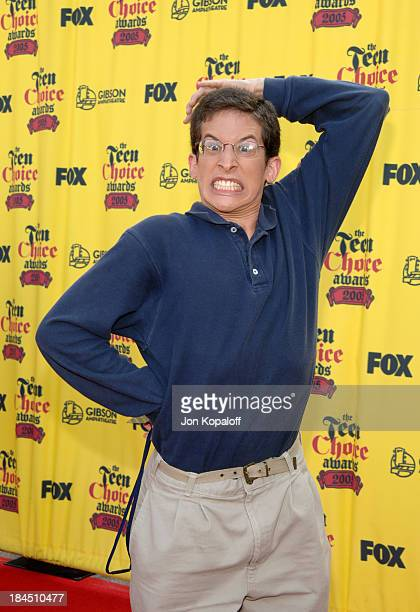 Richard Rubin of Beauty and the Geek during 2005 Teen Choice Awards Arrivals at Gibson Amphitheater in Universal City California United States