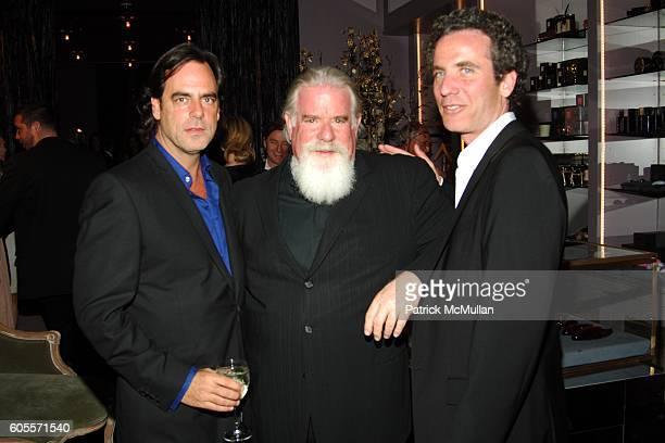 Richard Sachs Jeff Ayeroff and Jon Rubin attend Kiki De Montparnasse Private Dinner at Kiki De Montparnasse on May 22 2006 in New York City