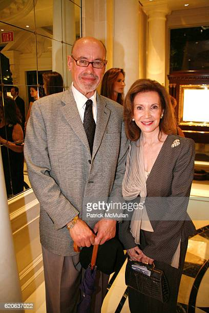 Richard Schewel and Roz Richter attend Cocktail Reception in Celebration of Miami City Ballet's World Premiere NIGHTSPOT at Graff on January 17 2008...