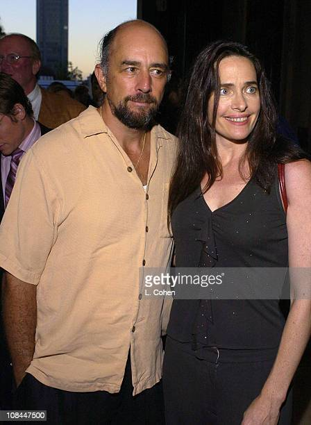 Richard Schiff and Sheila Kelley during Hairspray Opening Night Los Angeles Red Carpet at Pantages Theatre in Los Angeles California United States