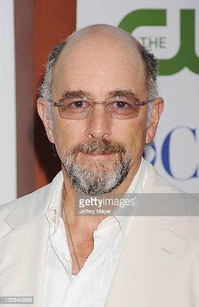 Richard Schiff arrives at the TCA Party for CBS The CW and Showtime held at The Pagoda on August 3 2011 in Beverly Hills California