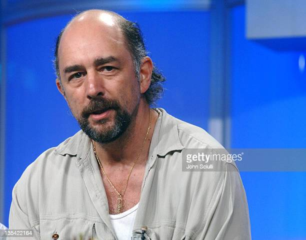 Richard Schiff during The Creative Coalition and TV Watch Host QA at Television Critics Association Press Tour at Beverly Hilton Hotel in Beverly...