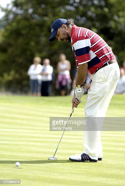 Richard Schiff during The Northern Rock All Star Charity Gala Golf Tournament Day 1 at Celtic Manor Resort in Newport Great Britain