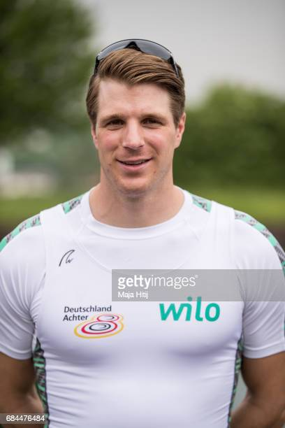 Richard Schmidt poses during Men's Eight Germany Team Presentation on May 18 2017 in Dortmund Germany