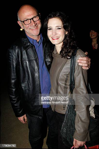 Richard Schreoeder Chloe Lambert at The Exclusive Show Of The Theatre Production L'Amour La Mort Les Fringues At The Theatre Marigny In Paris