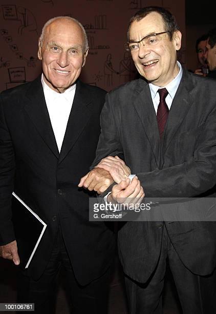 Richard Serra and Robert Ryman