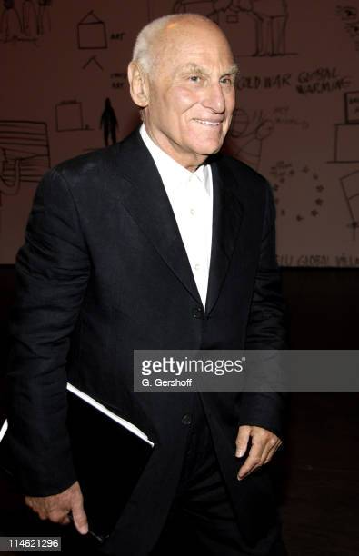 Richard Serra during MoMA Celebrates Opening of Richard Serra Sculpture: Forty Years at The Museum of Modern Art in New York City, New York, United...