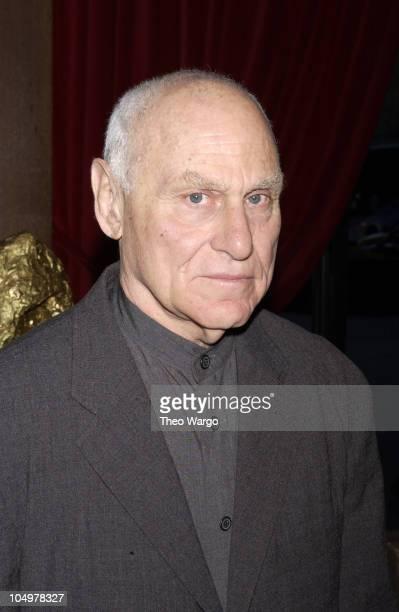 "Richard Serra during New York Premiere of Matthew Barney's ""Cremaster 3"" at The Ziegfeld Theatre in New York City, New York, United States."