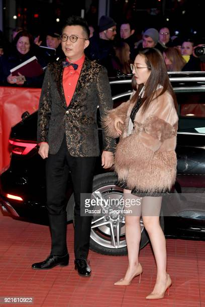 Richard Shen arrives for the 'Don't Worry He Won't Get Far on Foot' premiere during the 68th Berlinale International Film Festival Berlin at...