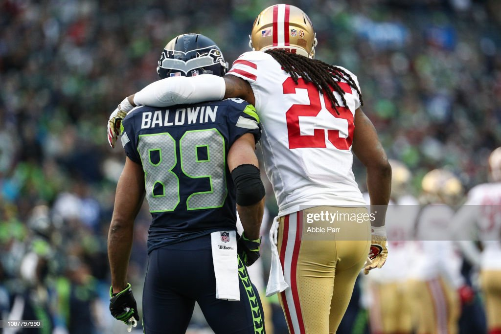 San Francisco 49ers v Seattle Seahawks : News Photo