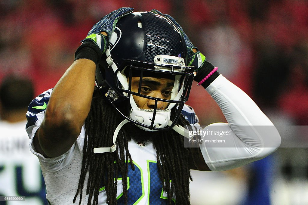 Divisional Round - Seattle Seahawks v Atlanta Falcons : News Photo